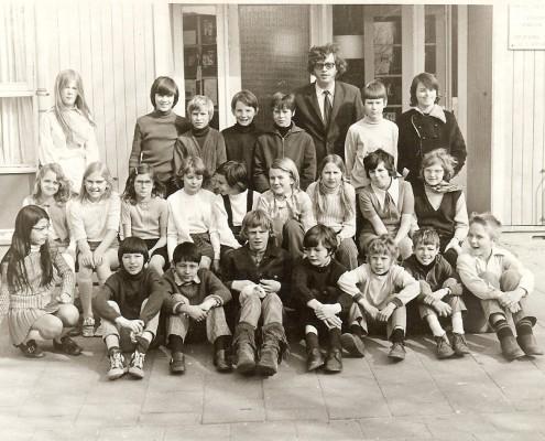 zesde klassefoto 1971